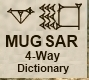 MUGSAR 4WAY logo
