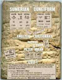 Sumerian Cuneiform English Dictionary Cover 12013CT v17 200